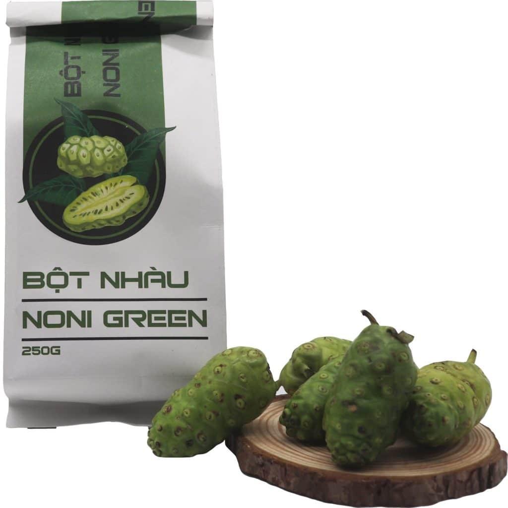bột nhàu Noni Green 250g túi giấy