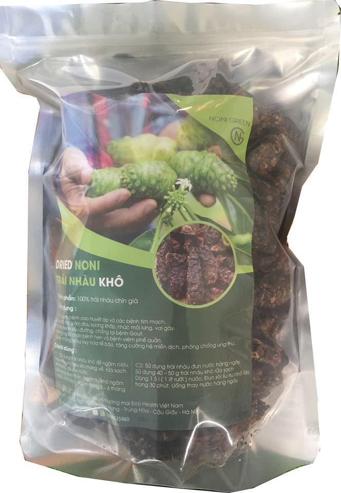 1 Kg Trái nhàu/ quả nhàu khô loại chuyên dùng ngâm rượu