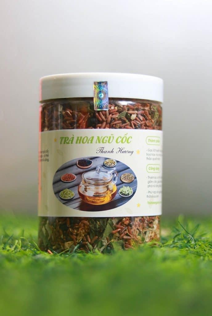 trà hoa ngũ cốc