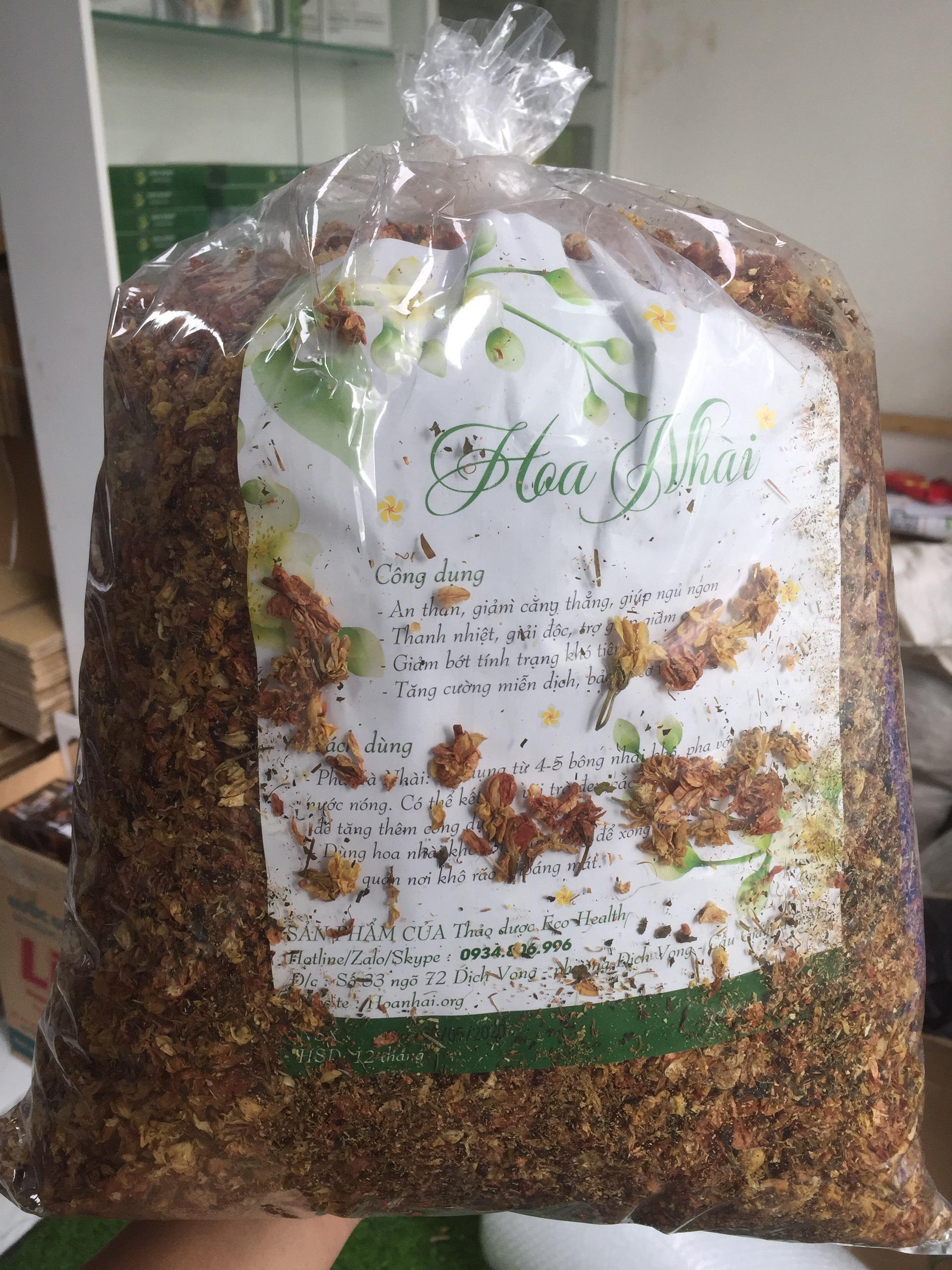 1kg Hoa nhài khô sấy kỹ - hương nồng nàn